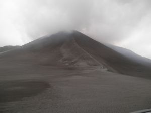 Yasur vulkanas Tanna saloje